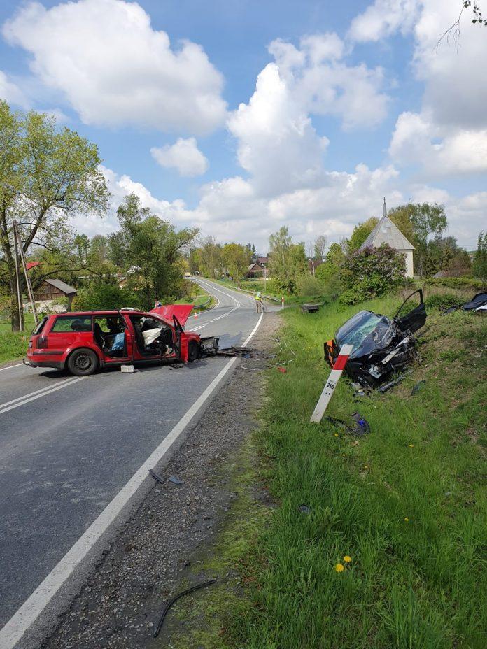 Śmiertelny wypadek w Makowie (gmina Gołcza)