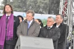 Wybory Chłopa Roku 2016 - goście w tym przew. RG Racławice Tadeusz Klimczyk i Janusz Piechociński - fot. Krzysztof Capiga - miechowski.pl