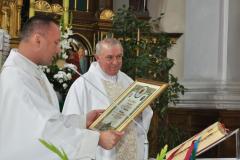 40-lecie kapłaństwa proboszcza - błogosławieństwo od papieża Franciszka - miechowski.pl - fot. K. Capiga