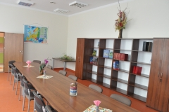 Sala konferencyjna - biblioteka w Kozłowie - fot. K.Capiga - miechowski.pl
