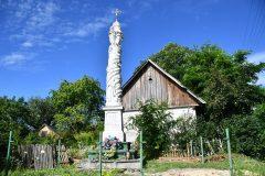 Kapliczka w Boczkowicach przed renowacją