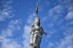 Zwieńczenie kapliczki w Boczkowicach